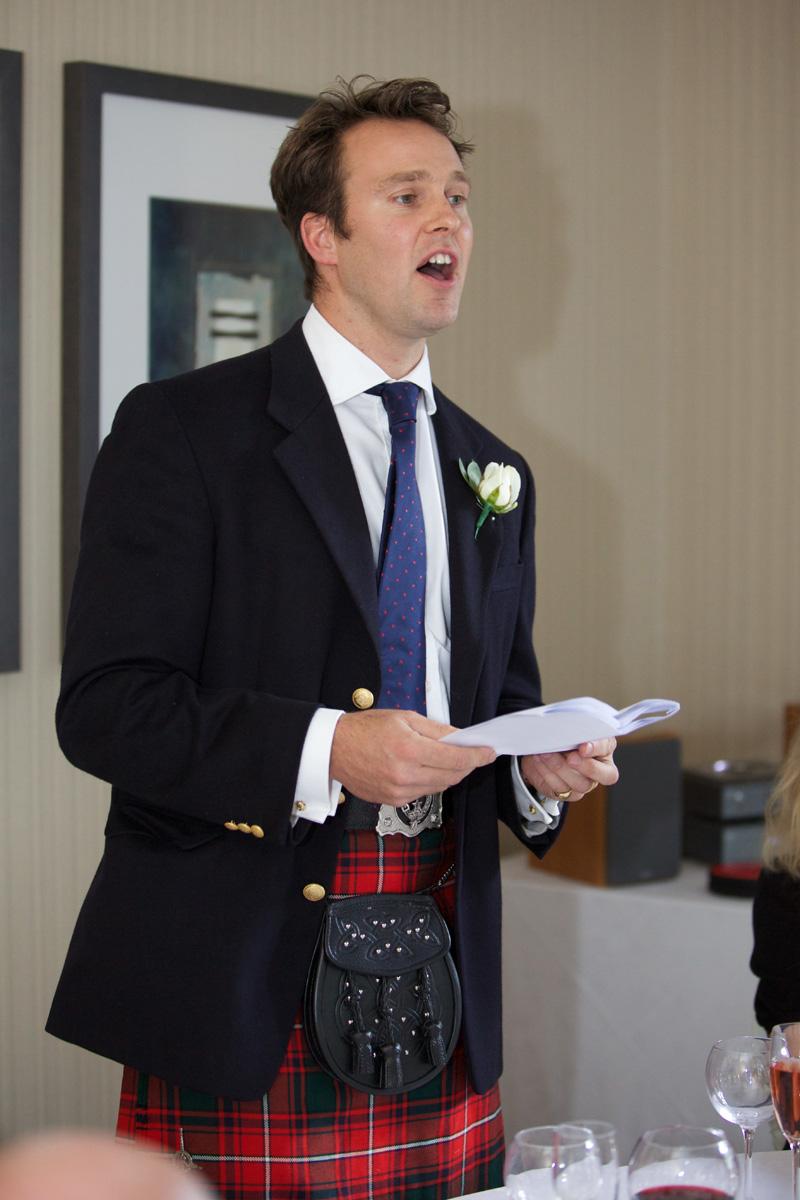 Scottish best man speech