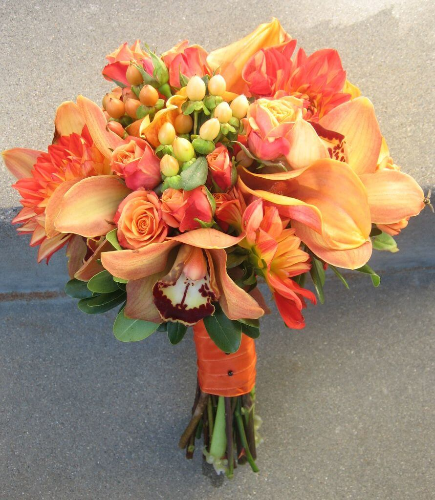 Flower Arrangements By Color Pt 1 Stony Point Hall
