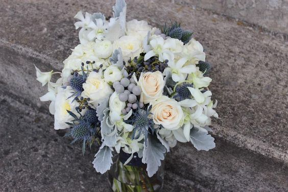 gray bouquet