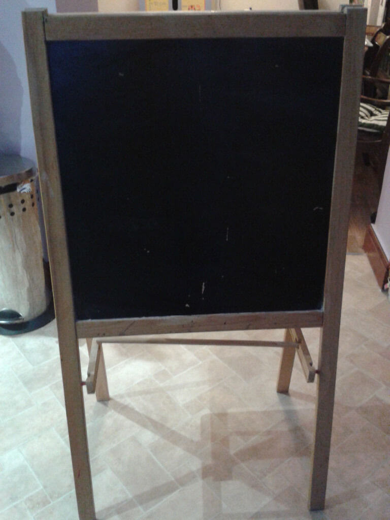 coloring easel
