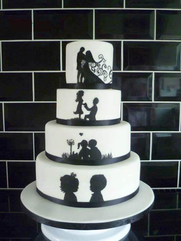 Unique Wedding Cake , Stony Point Hall