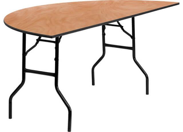 Half Round Tables